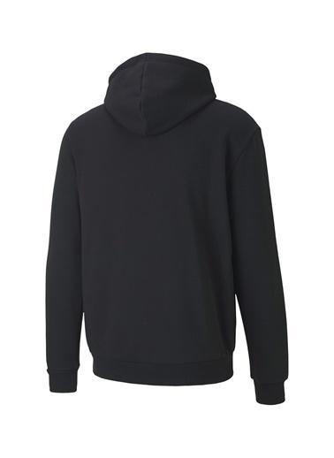 Puma Puma 59801451 ESS 2 Col Hoody FL Big Logo Erkek Sweatshirt Siyah